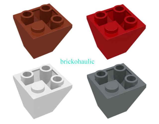 Lego 5 New Reddish Brown Panels 1 x 1 x 1 Corner Pieces