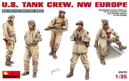 MINIART U.S.TANK CREW NW EUROPE Scala 1:35 cod.MA35070