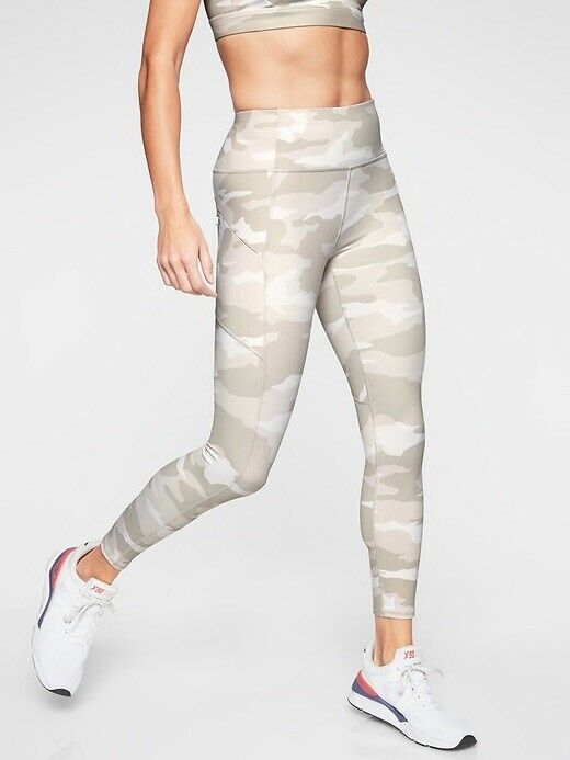 1fdc4887b3bb1 Athleta Camo Contender 7 8 Tight Large Tall NWT compression White  nrpbmp3212-Activewear Bottoms