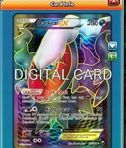 Shaymin EX  Full Art Promo Digital Card Pokemon TCG ONLINE PTCGO SENT FAST!!