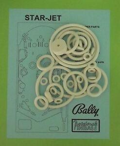 1977 Briarwood Super Star Pinball Machine Rubber Ring Kit