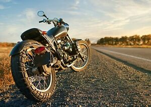 Beautiful-Classic-Motorcycle-Poster-Print-Size-A4-A3-Travel-Poster-Gift-8210