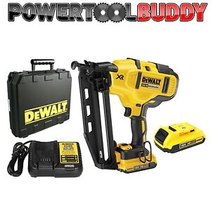Details About Dewalt Dcn660d2 18volt Li Ion Xr 2nd Fix Nail Gun Kit 2 X 2ah Batteries