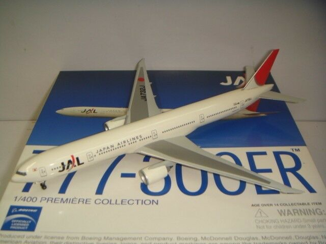 Dragon Wings 400 Japan Airlines JAL B777-300ER  2003s Couleur 1 400 EXCLUSIVE ITEM