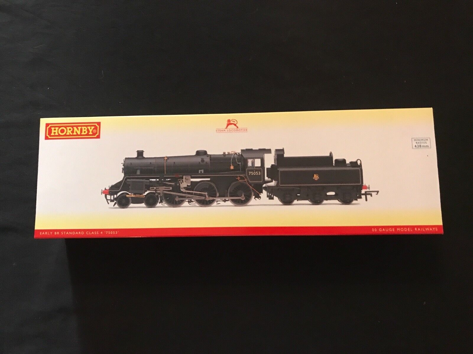 HORNBY R3548 BR (EARLY) 4-6-0 STANDARD 4MT CLASS 7500 75053 BRAND NEW, UNOPENED
