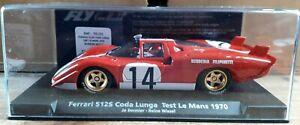 Fly C.75 - Ferrari 512 S Coda Lunga-le Mans 1970 Test-jo Bonnier-neuf-afficher Le Titre D'origine