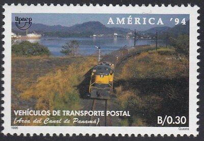 Briefmarken Süd- & Mittelamerika Upaep Panama 1136 1994 Zug Postal Train Eisenbahn Mnh Delikatessen Von Allen Geliebt