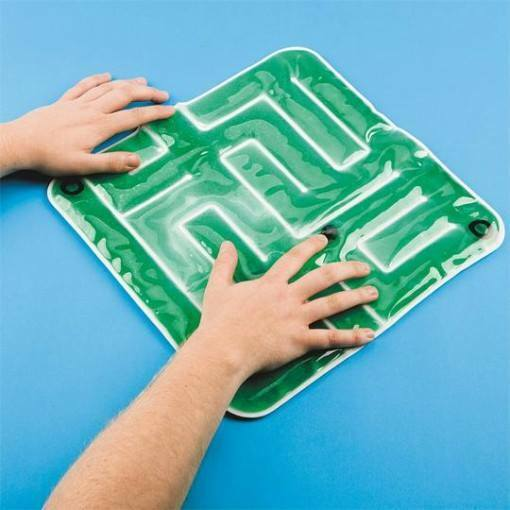 SALE    Green Sensory Gel Maze,Early Learning, Special Needs Toys and Games