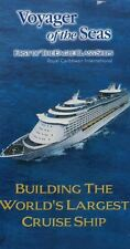 Voyager of the Seas VHS 3 Tape Set Building the World's Largest Cruise Ship RC