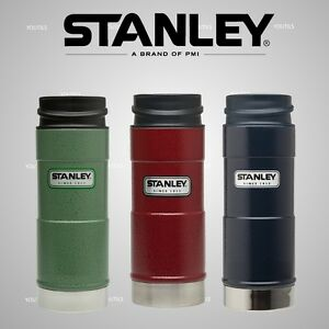 Stanley Classic One Hand Vacuum Travel Mug 354ml Green