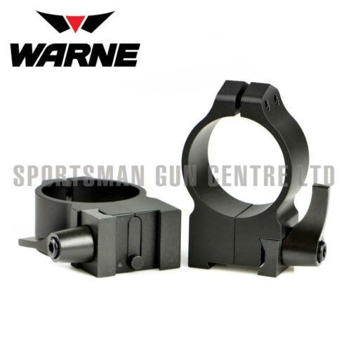 Warne 30 mm Mat Haute Tikka QD Anneaux 15TLM