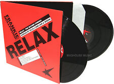 """FRANKIE GOES TO HOLLYWOOD 12"""" x 2 Relax 6 REMIXES UK Promo Only Jam & Spoon UNPL"""