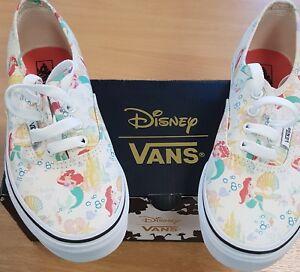 a2642a16f3 Image is loading VANS-Disney-Princess-Little-Mermaid-Ariel-Shoes-Size-