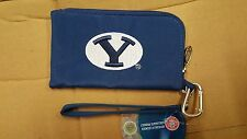 BYU Brigham Young Cougars ID Wallet Wristlet Cell Phone Case Charm 14 Purse