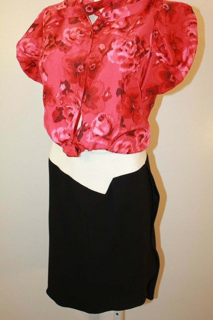NWT HELMUT LANG  WOMEN AWESOME SUGAR SKIRT SIZE 8  MSRP  345  MADE IN USA