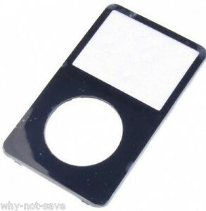 replacement black Front cover housing for apple IPod Classic 5th 5g GEN 30 60 GB