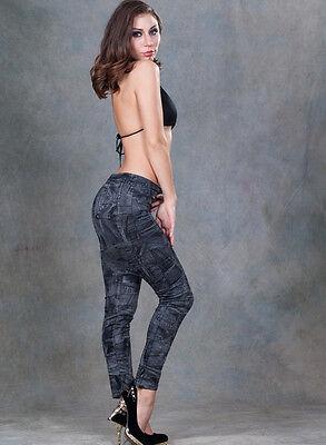 Denim Winter Leggings Trousers Jeans Combats Fleece Thermal Warm Stretchy Thick BerüHmt FüR AusgewäHlte Materialien, Neuartige Designs, Herrliche Farben Und Exquisite Verarbeitung