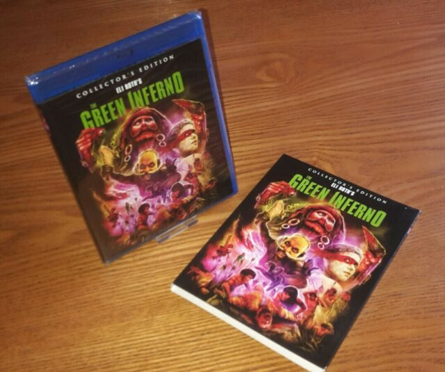 THE GREEN INFERNO Blu-ray US import Scream Factory region a (rare OOP slipcover)