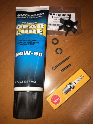 GENUINE Annual Service Kit for 2.5HP 3.5HP Tohatsu 2-Stroke Outboard M2.5A M3.5A