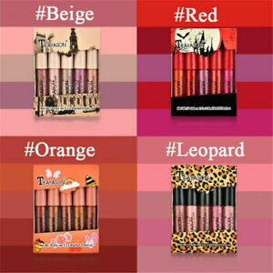 5-Pack-Long-Lasting-Liquid-Lipstick-Velvet-Matte-Lip-Gloss-Makeup-Waterproof