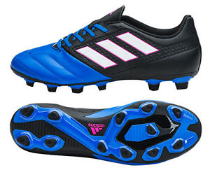 the best attitude f84b5 f4447 Image is loading Adidas-ACE-17-4-FxG-BA9688-Soccer-Cleats-