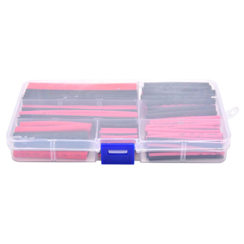 150pcs 2:1 Polyolefin Heat Shrink Tubing Tube Sleeving Wrap Wire Kit Cable JHXI