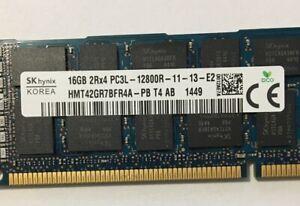 HYNIX-16GB-PC3L-12800R-DDR3-1600-REG-ECC-MEMORY-MODULE-HMT42GR7BFR4A-Dell