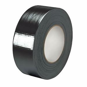 12 ROLLS OF SILVER DUCT DUCK GAFFA GAFFER CLOTH TAPE 50mm x 50M WATERPROOF 24HRS
