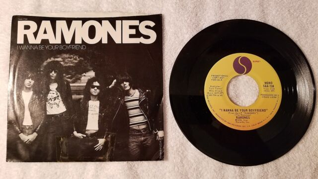 THE RAMONES I Wanna Be Your Boyfriend +2 live ORIGINAL US 7
