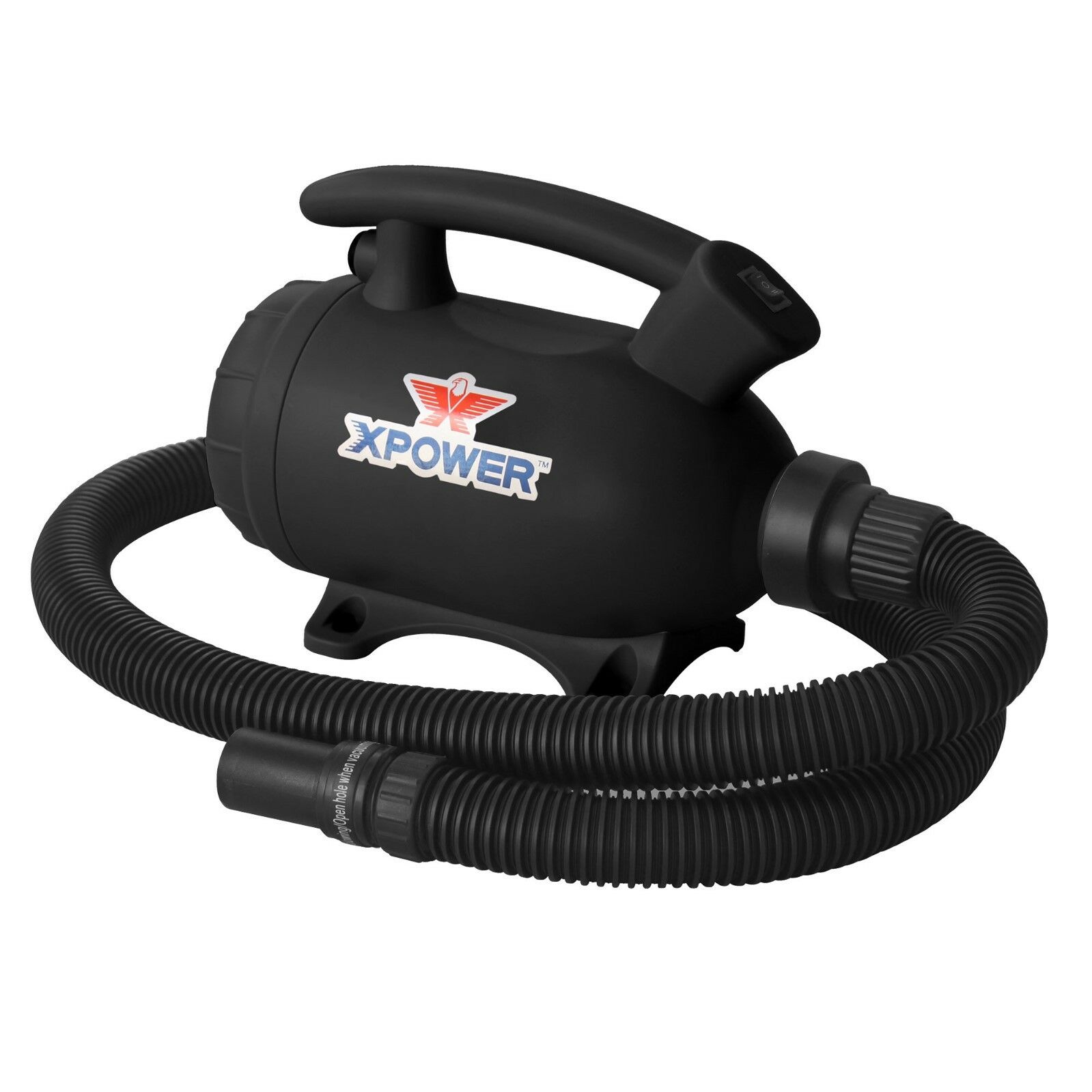 XPOWER A-5 2 HP 2 Speed Multi-Use Electronics Air Duster   Dryer   Air Pump