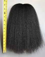 Büffelhaarbüsche Schwarz Paradebusch Yakhaar - Haarbüsche 35cm
