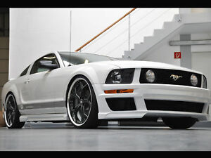 Image Is Loading Ford Mustang Gt 05 09 Full Body Kit