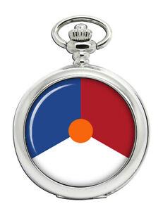 Koenigliche-Niederlande-Air-Force-Koninklijke-Luchtmacht-Scheibe-Taschenuhr