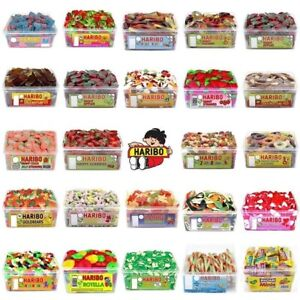 2-FULL-TUBS-OF-HARIBO-SWEETS-WHOLESALE-DISCOUNT-FAVOURS-TREATS-PARTY-CANDY-KIDS