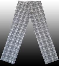 NEW HUGO BOSS Golf Golfing Plaid Designer Tartan Leisure Pants Trousers 34R 50