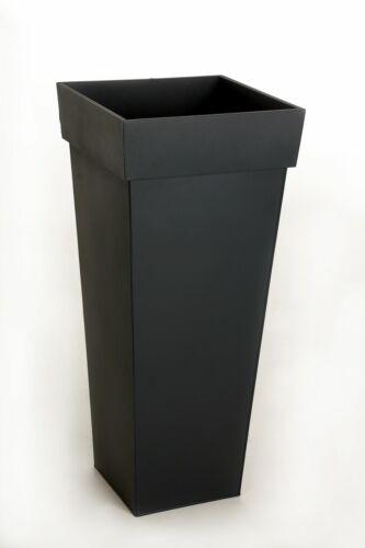 "Pflanzkübel Blumenkübel /""Mega/"" 70 cm Zink Anthrazit inkl Bewässerungssystem"