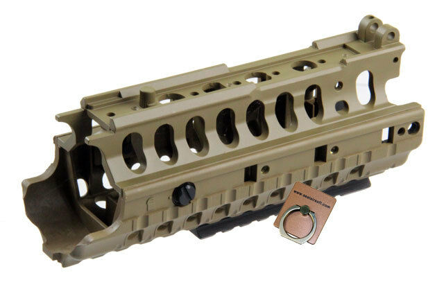 Jing Gong Airsoft Toy ARMS Style Handguard For M4 AEG Rifle (Tan) JG-M158
