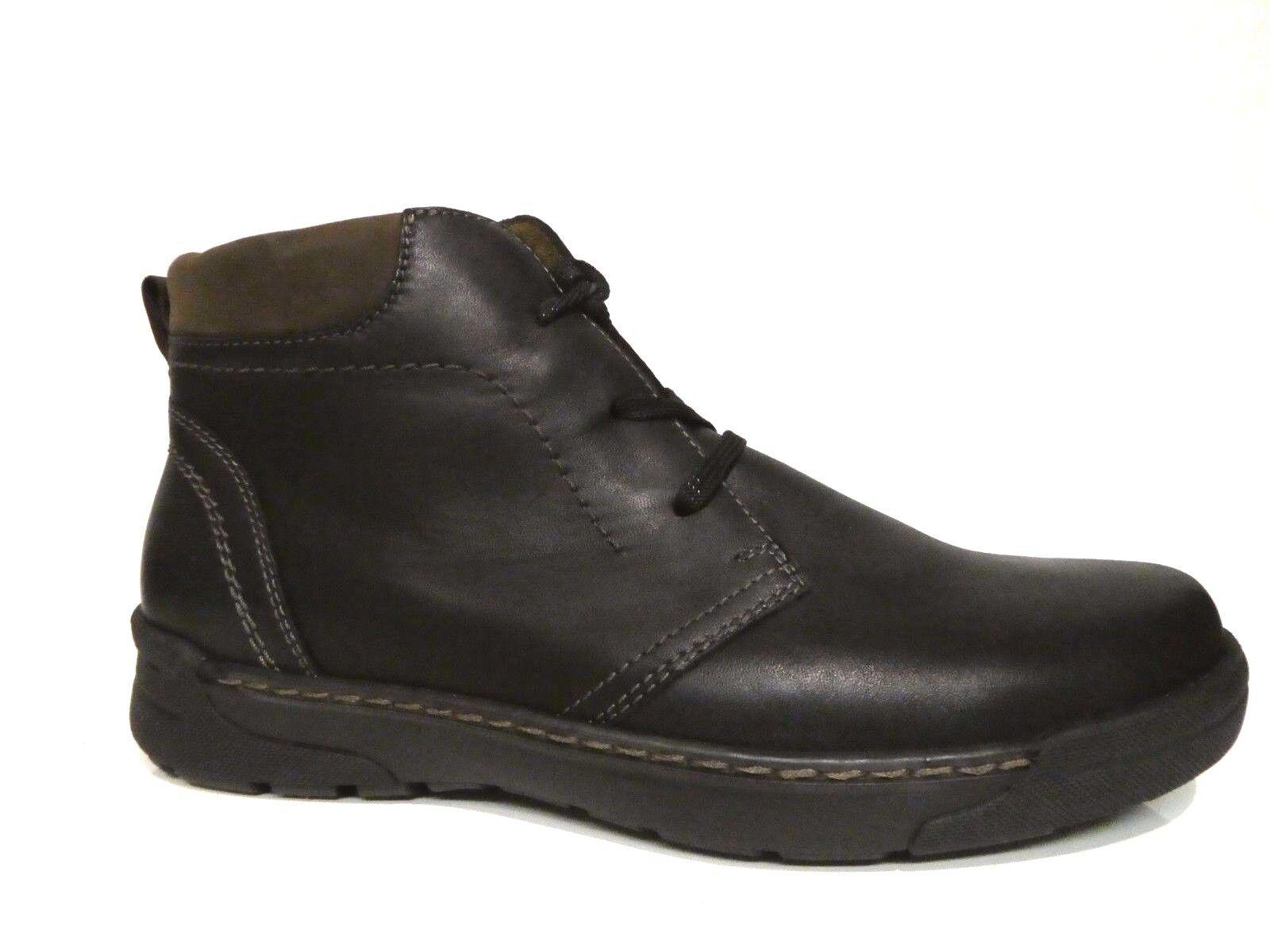 Waldläufer Herren Schuhe Stiefel Boots gefüttert Hesso schwarz Leder Weite H