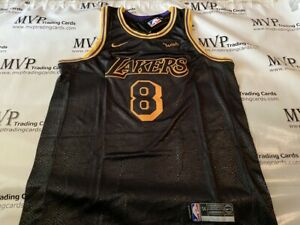 Details about Kobe Bryant 8 Mamba Day Los Angeles Lakers Men's Size Medium Jersey