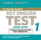 Cambridge Key English Test 1 Audio CD Set (2 CDs): Examination Papers from the University of Cambridge ESOL Examinations by Cambridge ESOL (CD-Audio, 2003)