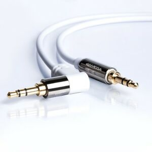 1m-AUX-Kabel-Weiss-3-5mm-Klinke-Stecker-Winkel-Stereo-fuer-Handy-MP3-TV-iPhone