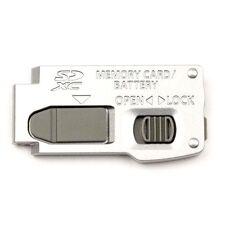 Panasonic Lumix DMC-ZS8 ZS10 Battery Cover Door Replacement Repair Part - Silver