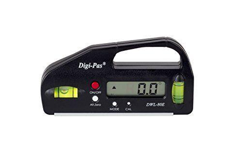 Digi-Pas DWL80E 0.1 degré Mini Poche Taille Numérique Niveau Angle Gauge maintenir