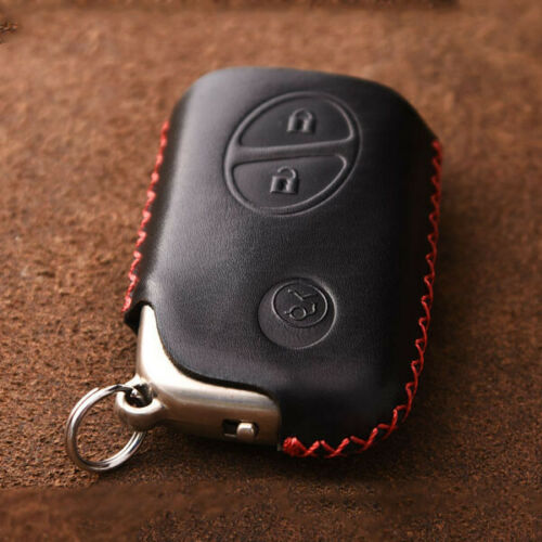 Leather Remote Smart Key Fob Case Cover For Lexus CT200h ES240 RX 270 350 LX570