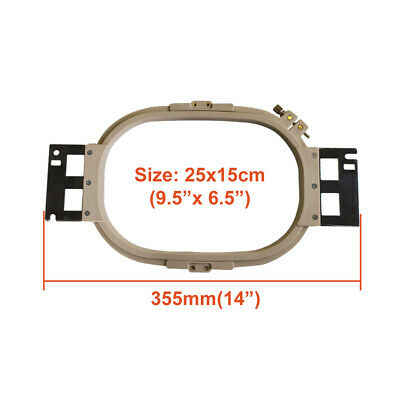 """15cm 5.9/"""" 355mm 14/"""" Embroidery Hoop For SWF Commercial Machines Wide"""