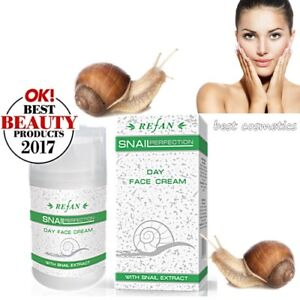 NIB REFAN Snail Perfection Extract Day Face Cream Natural Anti-Aging ...