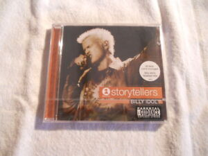 Billy-Idol-039-Storytellers-039-2001-CD-Capitol-Records-Printed-IN-USA-New-Sealed
