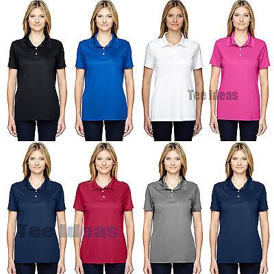 2XL 3XL 480W Hanes Cool Dri Womens Sport Shirt Polo S XL M L