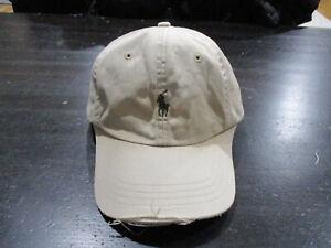 d42d1c520 VINTAGE Ralph Lauren Polo Strap Back Hat Cap Brown Green Pony Dad ...