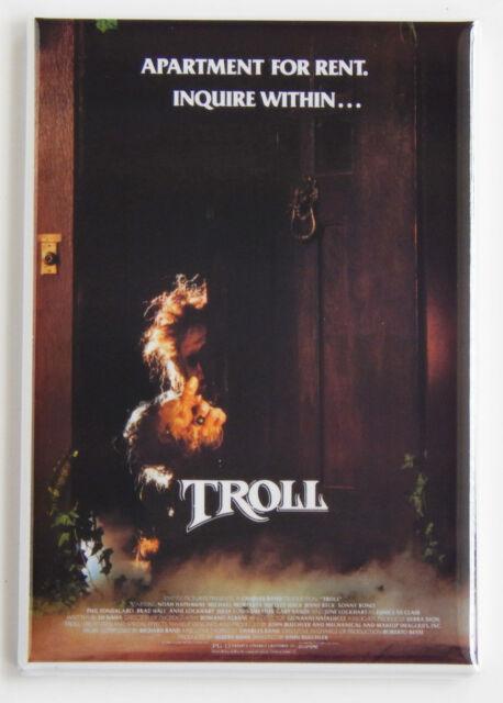 Troll FRIDGE MAGNET movie poster horror